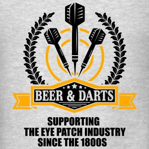 Beer and darts since 1800s Tanks - Men's T-Shirt