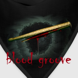 blood groove (broken bleeding drumstick) - Bandana