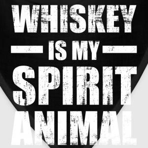 Whiskey Spirit Animal T-Shirts - Bandana