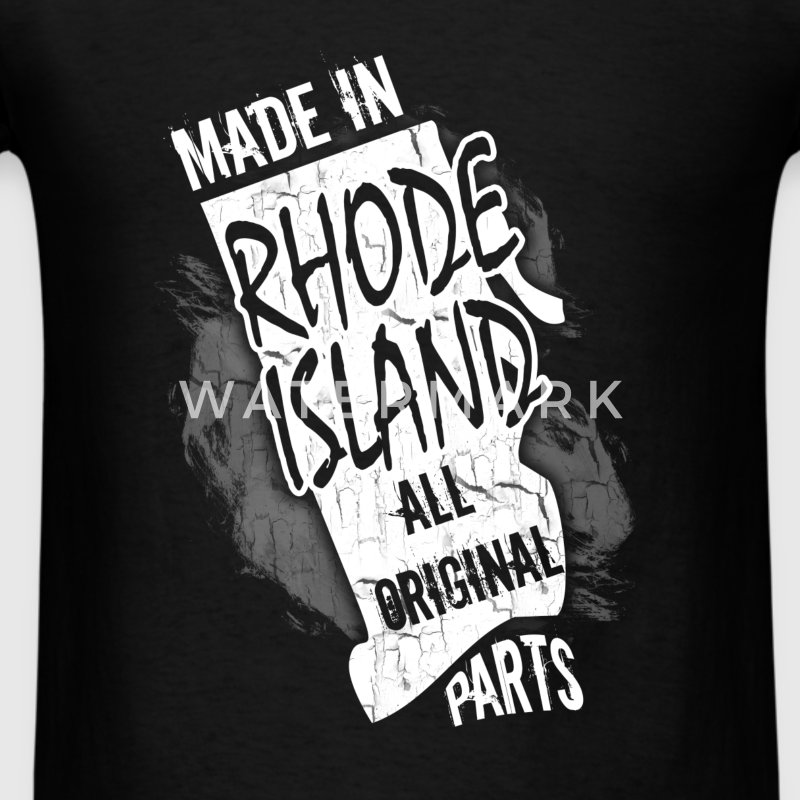 Rhode Island T-shirt - Made In Rhode Island - Men's T-Shirt