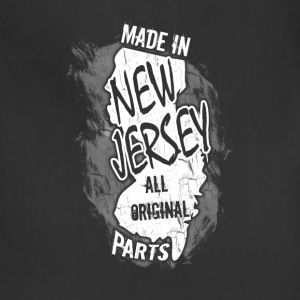 New Jersey T-shirt - Made In New Jersey - Adjustable Apron