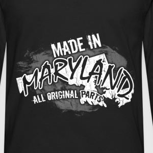 Maryland T-shirt - Made In Maryland - Men's Premium Long Sleeve T-Shirt