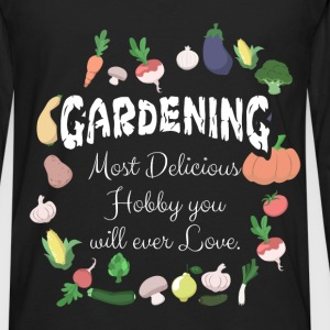 Gardening T-shirt- Gardening, Next Delicious Hobby - Men's Premium Long Sleeve T-Shirt