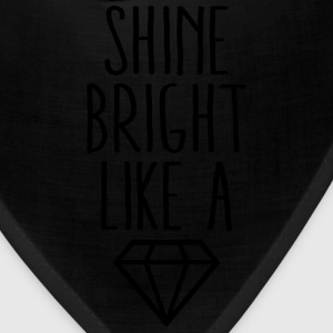 Shine Bright Like Diamond Hoodies - Bandana