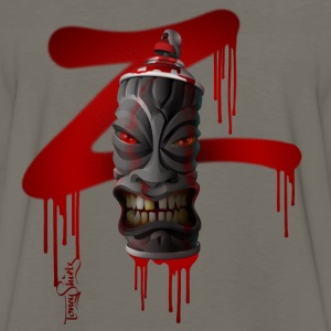 SPRAY-A-TIKI (dd_z01-red) Baby & Toddler Shirts - Men's Premium Long Sleeve T-Shirt