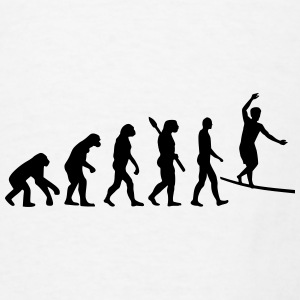Evolution Slackline Mugs & Drinkware - Men's T-Shirt