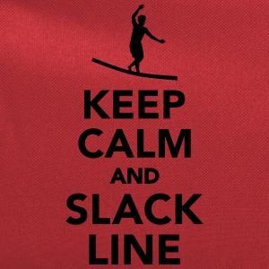 Keep calm and Slackline Kids' Shirts - Computer Backpack