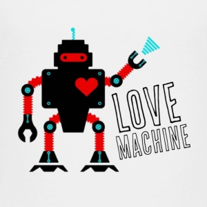 Love Machine Robot Kids' Shirts - Toddler Premium T-Shirt