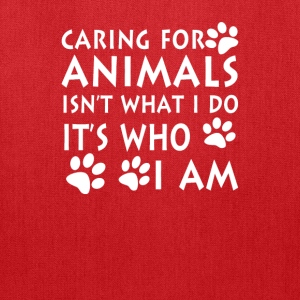 Caring for animals - Tote Bag