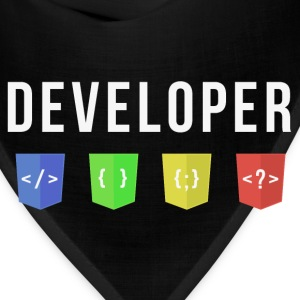 developer web Women's T-Shirts - Bandana