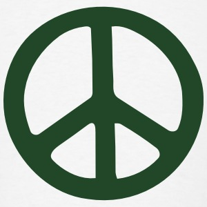 PEACE SIGN Tank Tops - Men's T-Shirt