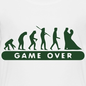 MARRIAGE - GAME OVER Kids' Shirts - Toddler Premium T-Shirt