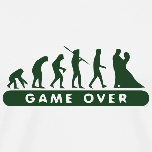 MARRIAGE - GAME OVER Polo Shirts - Men's Premium T-Shirt