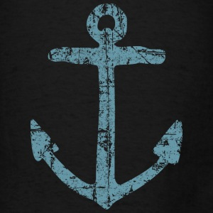 Anchor Vintage Blue Sailing Sailor Design Bags & backpacks - Men's T-Shirt