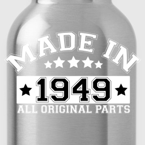 MADE IN 1949 ALL ORIGINAL PARTS T-Shirts - Water Bottle