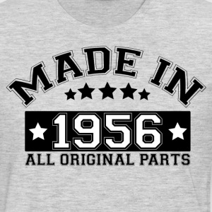 MADE IN 1956 ALL ORIGINAL PARTS T-Shirts - Men's Premium Long Sleeve T-Shirt