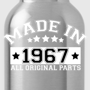 MADE IN 1967 ALL ORIGINAL PARTS T-Shirts - Water Bottle
