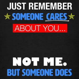 Someone Cares - Men's T-Shirt