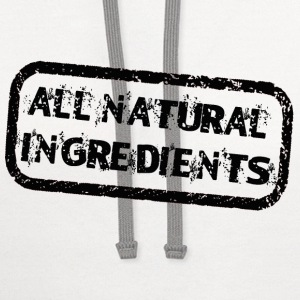 Natural Ingredients - Contrast Hoodie