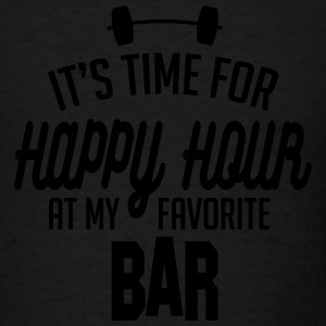it's time for happy hour at my favorite bar C 1c Long Sleeve Shirts - Men's T-Shirt