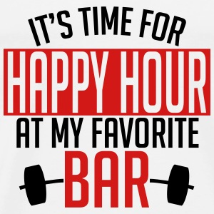 it's time for happy hour at my favorite bar A 2c Tanks - Men's Premium T-Shirt