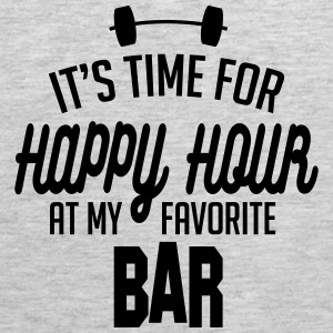 it's time for happy hour at my favorite bar C 1c Baby & Toddler Shirts - Men's Premium Tank
