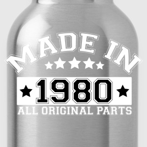 MADE IN 1980 ALL ORIGINAL PARTS T-Shirts - Water Bottle