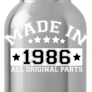 MADE IN 1986 ALL ORIGINAL PARTS T-Shirts - Water Bottle
