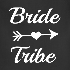 Bride Tribe Bridesmaid funny shirt - Adjustable Apron