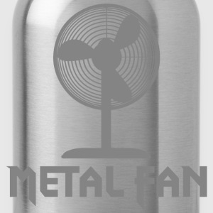 Metal Fan - Water Bottle