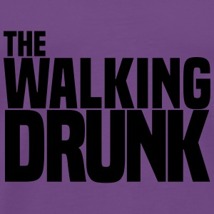 the walking drunk Tanks - Men's Premium T-Shirt