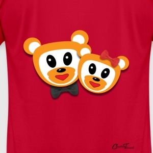 Kiddies-Teddys Sweatshirts - Men's T-Shirt by American Apparel