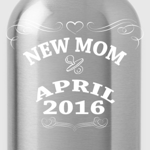 New Mom April 2016 Women's T-Shirts - Water Bottle