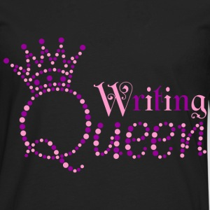I am Writing Queen - Men's Premium Long Sleeve T-Shirt