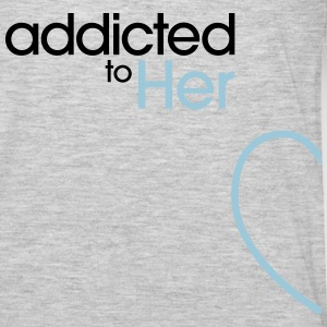 Addicted To Her Hoodies - Men's Premium Long Sleeve T-Shirt