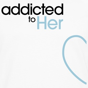 Addicted To Her Tank Tops - Men's Premium Long Sleeve T-Shirt