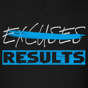 results white blue Tanks - Men's T-Shirt