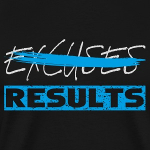 results white blue Tanks - Men's Premium T-Shirt