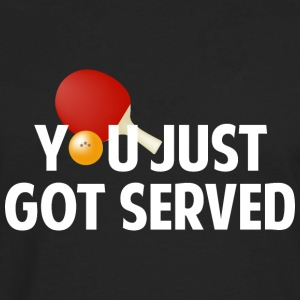 You Just Got Served - Men's Premium Long Sleeve T-Shirt