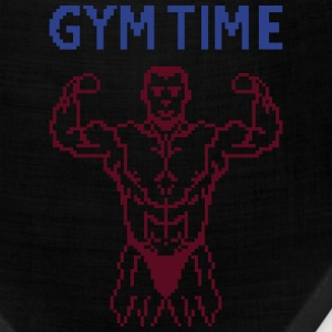gym time pixelart T-Shirts - Bandana