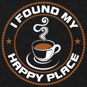 Coffee My Happy Place Mugs & Drinkware - Men's T-Shirt