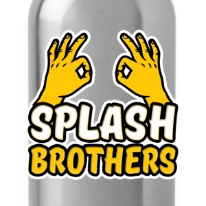Splash Brothers funny - Water Bottle