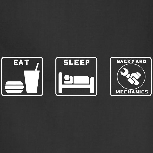 Mens EAT SLEEP BM spanner logo
