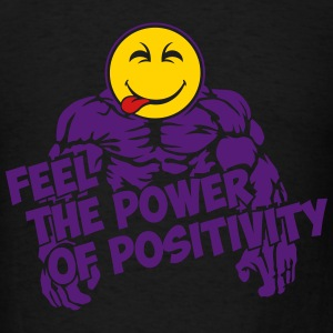 Feel the power of positivity Tank Tops - Men's T-Shirt