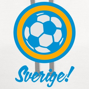 Football crest of Sweden Baby & Toddler Shirts - Contrast Hoodie