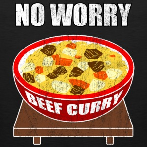 no worry beef curry - Men's Premium Tank