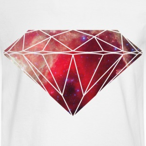 Diamond Galaxy T-Shirts - Men's Long Sleeve T-Shirt
