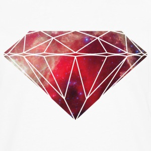 Diamond Galaxy T-Shirts - Men's Premium Long Sleeve T-Shirt