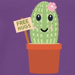 Cactus free hugs Tanks - Men's Premium T-Shirt