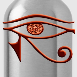 Fiery Eye Of Horus Tank Top - Water Bottle